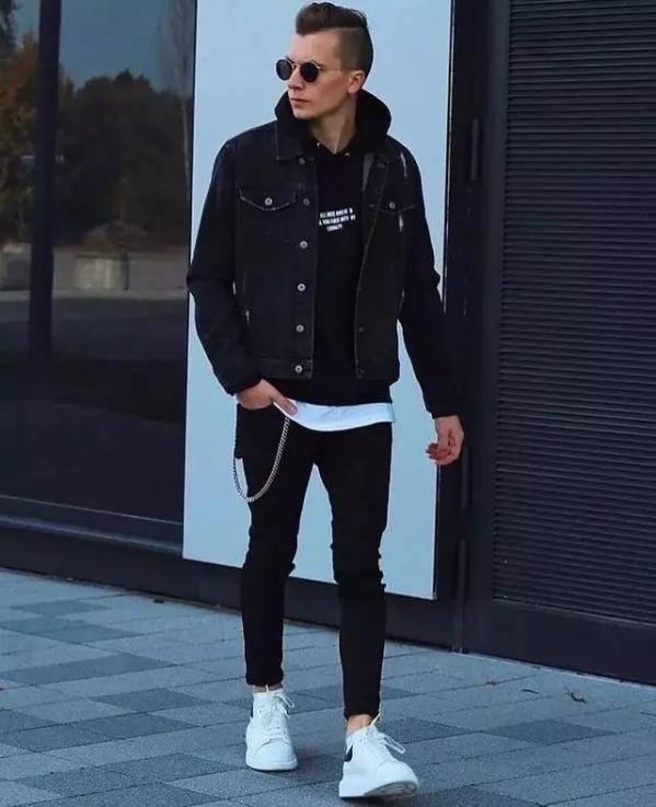 【男生冬天黑色衣服怎么搭配 穿衣方法】图2